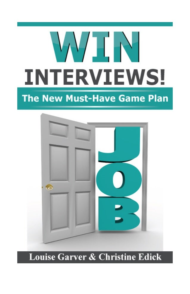 WIN Interviews By Louise Garver and Christine Edick 20660 Stevens Creek Blvd., Suite 210 Cupertino, CA 95014 The New Must-...