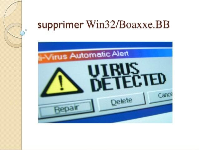 supprimer Win32/Boaxxe.BB