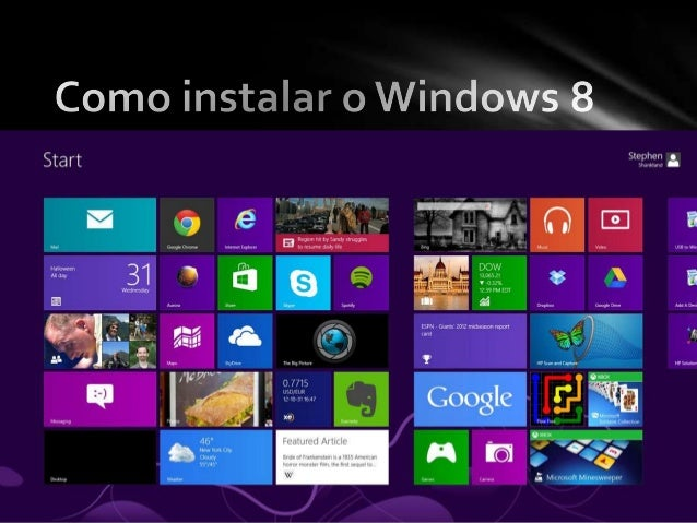 Antes de continuar conheça os requisitospara instalar o Windows 8Requisitos de sistema do Windows 8• Se pretender executar...