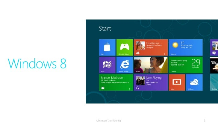Win8 overview andbusinessmodel