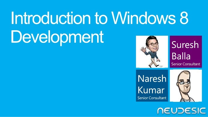 Introduction to Windows 8 Development
