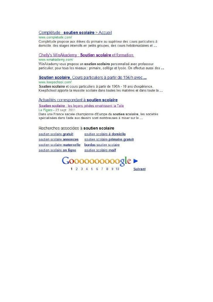 WinAkademy en 1ère page Google