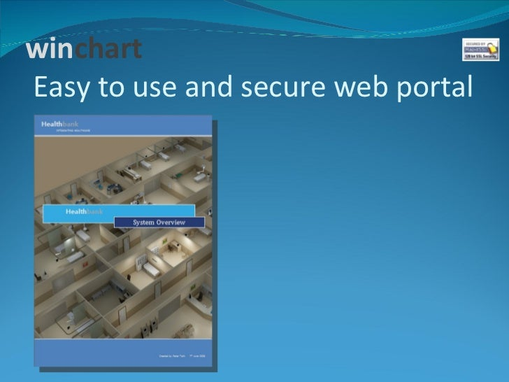 winchartEasy to use and secure web portal