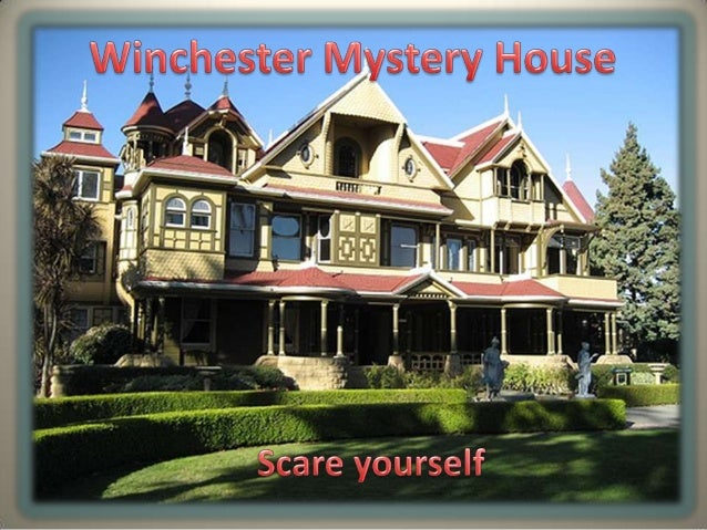 Haunted History•Mansion was the personal residence of Sarah Winchester, the window of gunmagnate William Wirt Winchester•T...