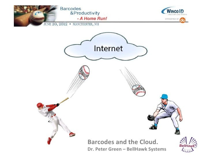 Barcodes and the Cloud.Dr. Peter Green – BellHawk Systems