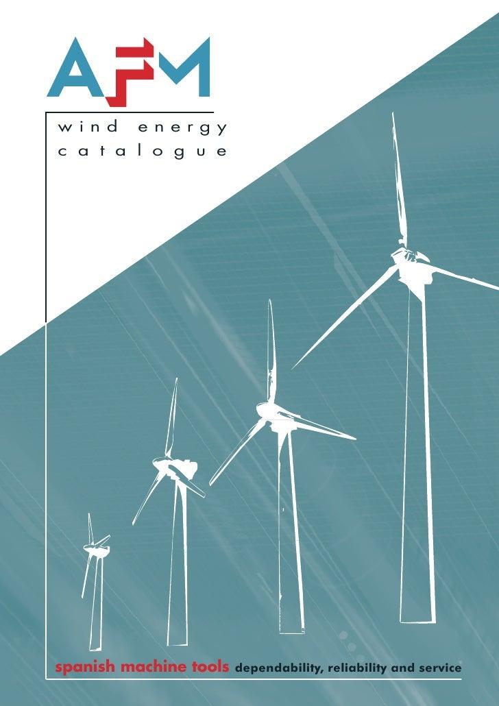 Wind Energy Catalogue