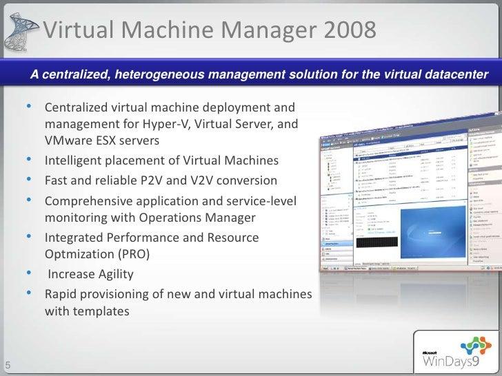 machine manager