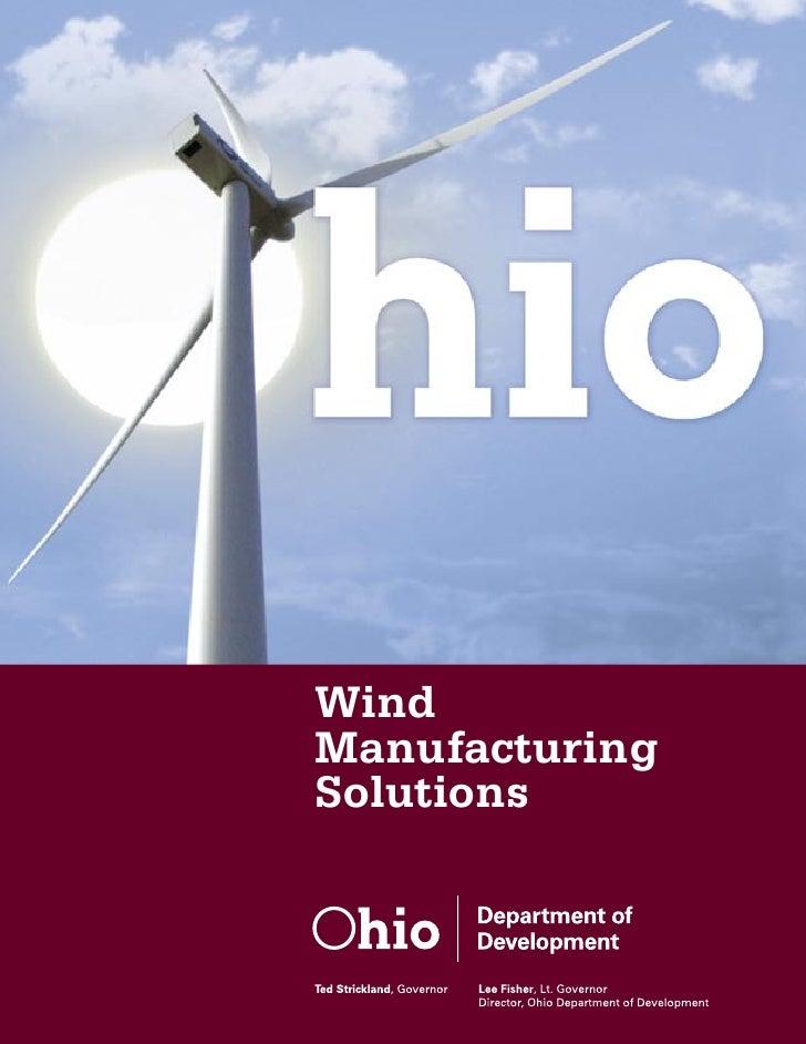 Ohio Wind Energy Brochure