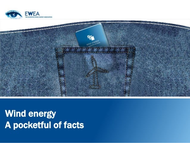 Wind energy: a pocketful of facts