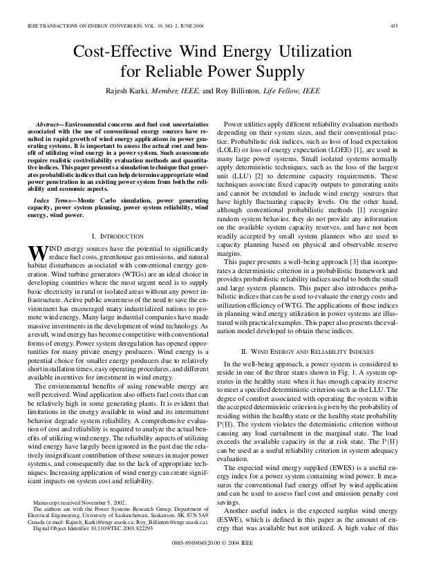IEEE TRANSACTIONS ON ENERGY CONVERSION, VOL. 19, NO. 2, JUNE 2004                                                         ...
