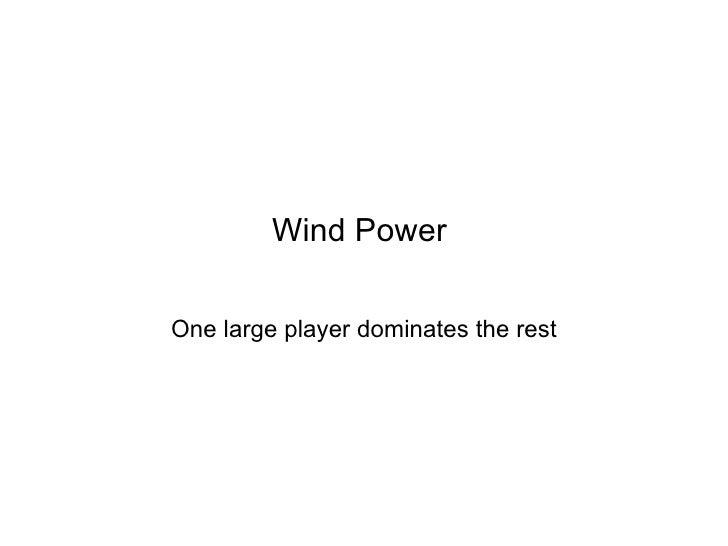 Windindustryin India
