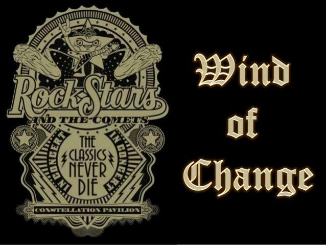 Wind of change (v.m.)