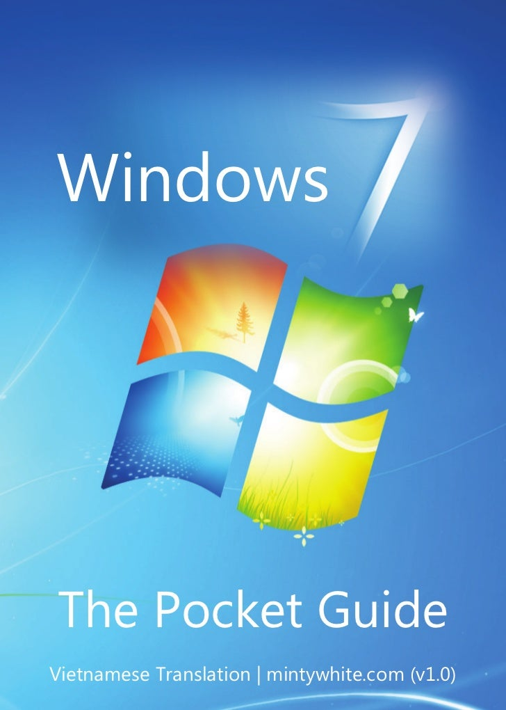 WindowsThe Pocket GuideVietnamese Translation | mintywhite.com (v1.0)