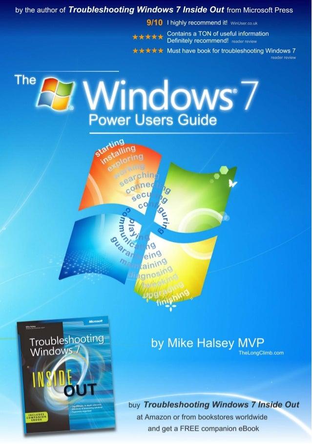 Windows 7 power users guide
