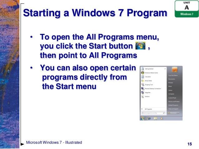 как открыть Powerpoint на Windows 7 - фото 8