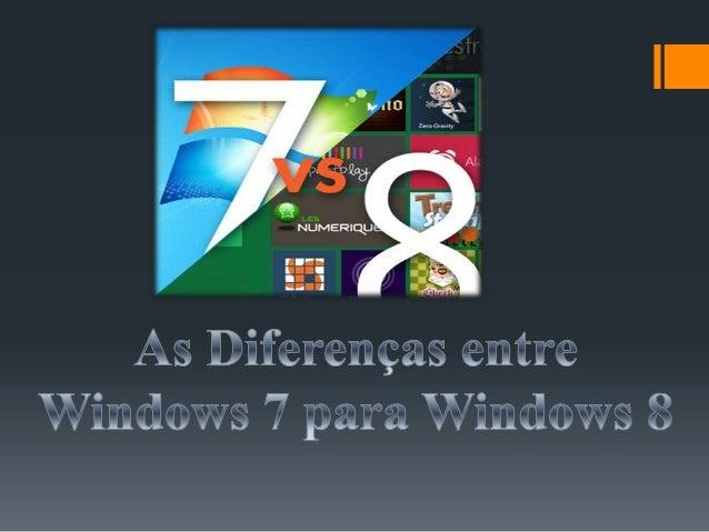 Recursos do Windows 7 Novo menu Iniciar; Nova barra de ferramentas totalmente reformulada; Comando de voz (inglês); Me...