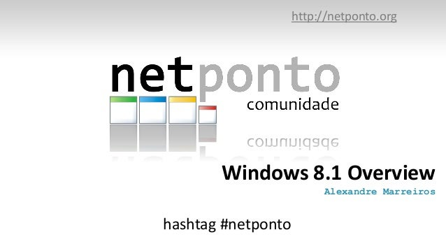 Windows8.1overviewnetponto