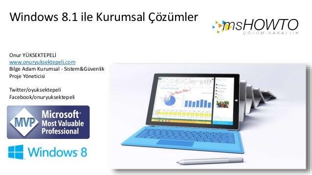 Windows 8.1 Enterprise Solutions