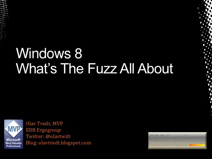 Windows 8 news for the enterprise