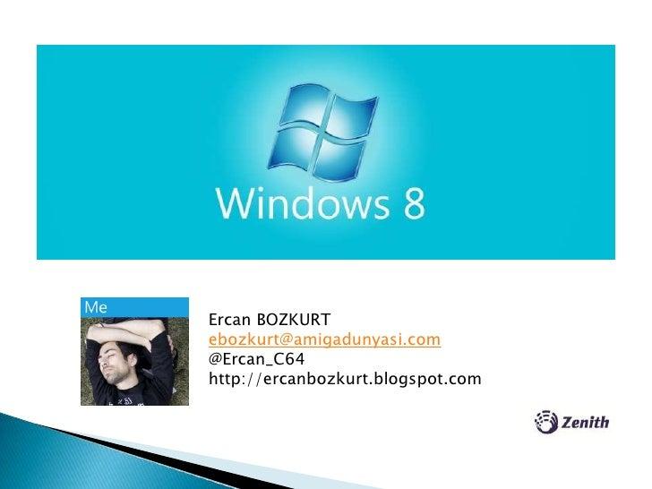 Windows 8 genel