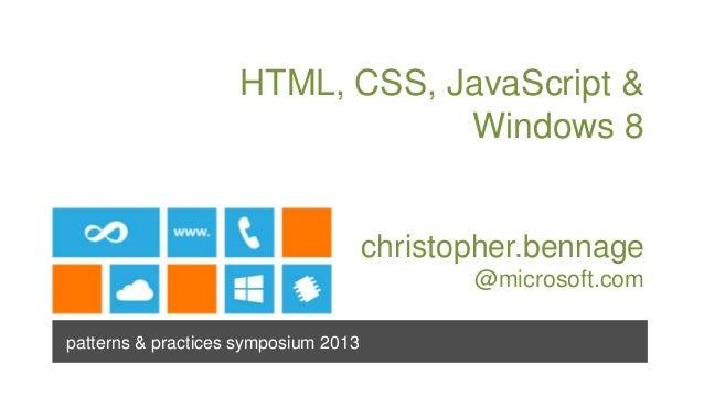 Windows 8 JavaScript (Wonderland)