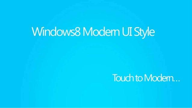 Metro style app user experience wireframe  Windows8의  가장 큰 변화                          Windows8                      App S...