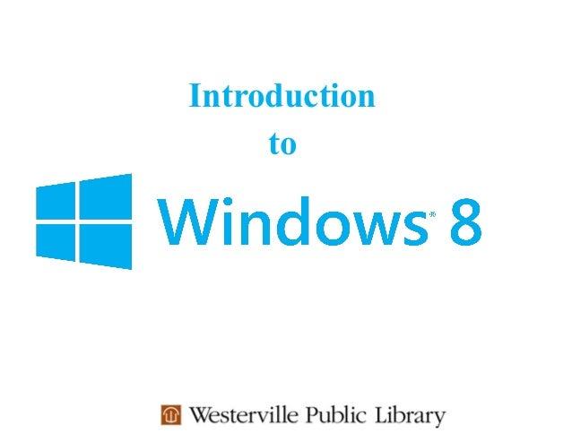 Windows 8 Tutorial