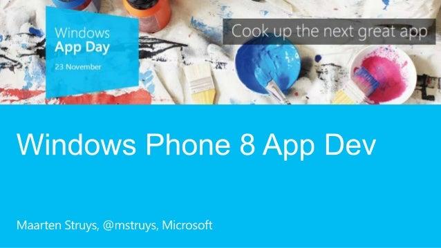 Windows phone 8 forex app
