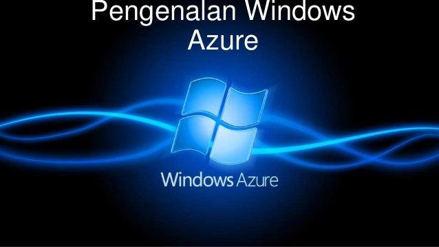 Pengenalan Windows Azure
