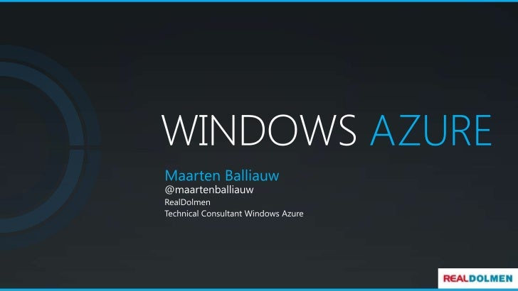 Windows Azure and the cloud: What it's all about