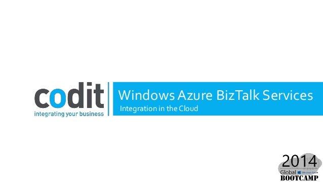 Introducing Windows Azure BizTalk Services