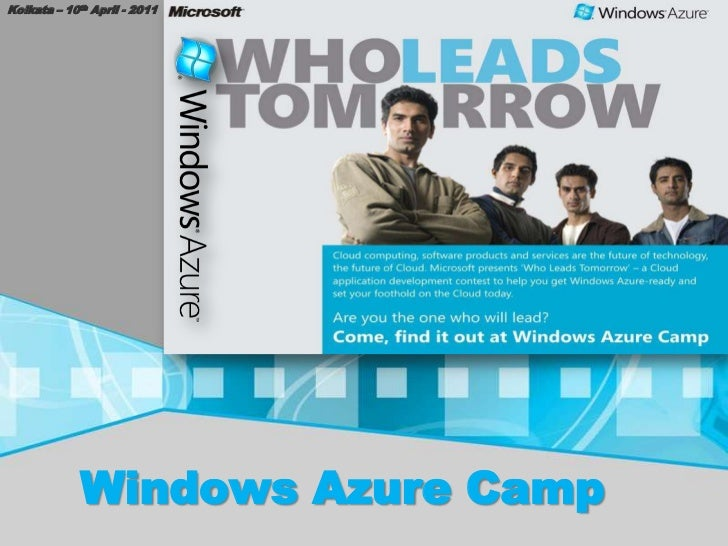 Windows azure camp - Kolkata