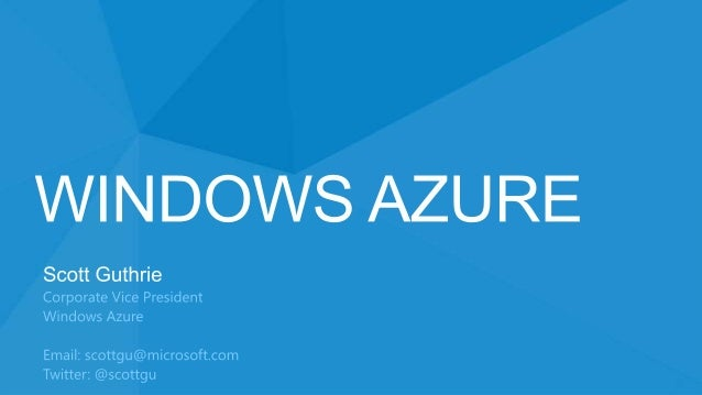 Windows Azure  €£$