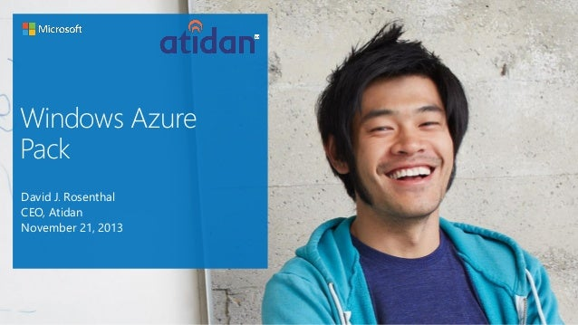 Windows Azure Cloud Overview - From Atidan