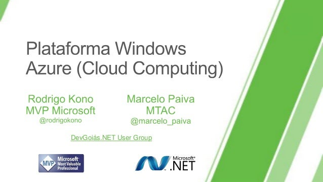Plataforma Windows Azure (Cloud Computing)