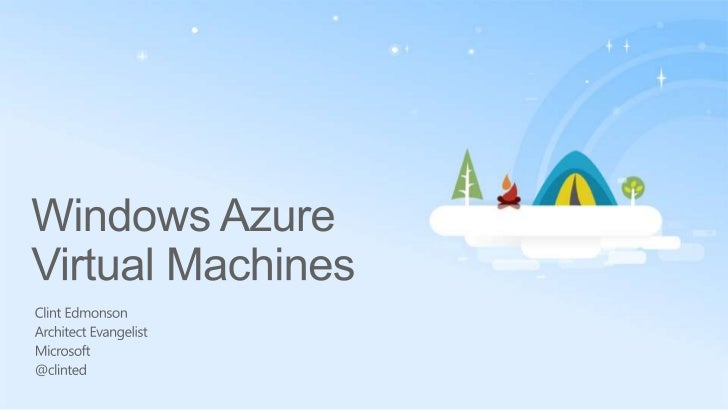 Windows Azure Virtual Machines