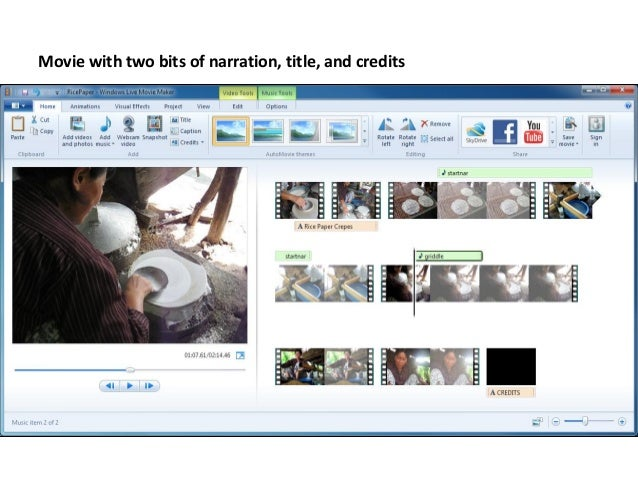 Windows Live Movie Maker Tutorial