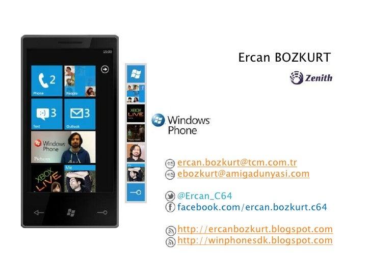 Ercan BOZKURTercan.bozkurt@tcm.com.trebozkurt@amigadunyasi.com@Ercan_C64facebook.com/ercan.bozkurt.c64http://ercanbozkurt....