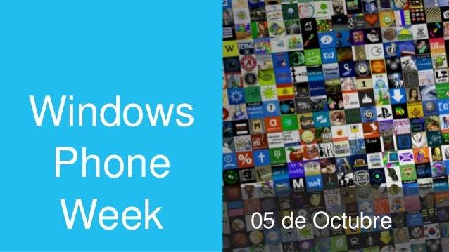 Windows Phone Week Spain