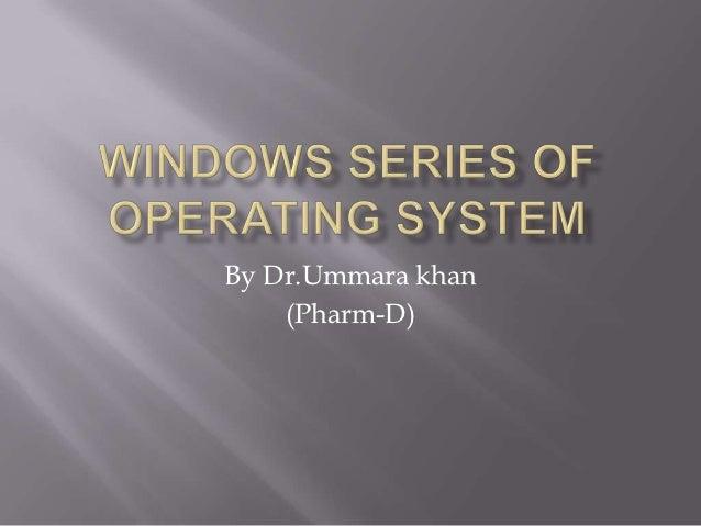 By Dr.Ummara khan    (Pharm-D)