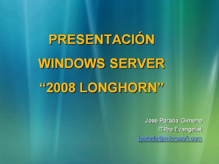 Windows Server2008