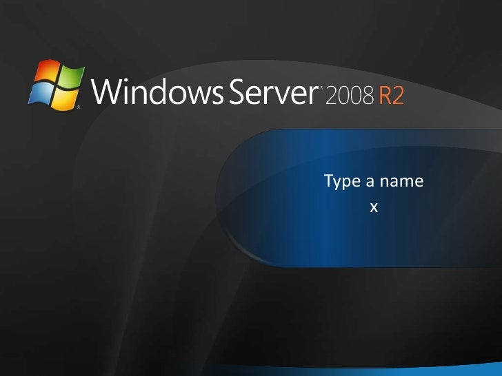 Windows Home Server 2008 R2