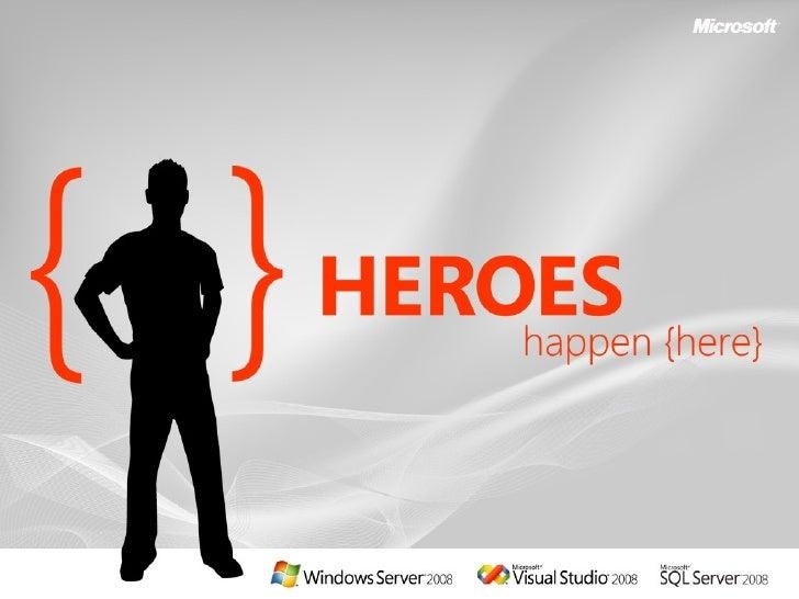 Windows Server 2008 - Web and Application Hosting