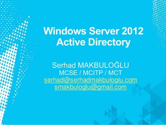 serhad@serhadmakbuloglu.com smakbuloglu@gmail.com