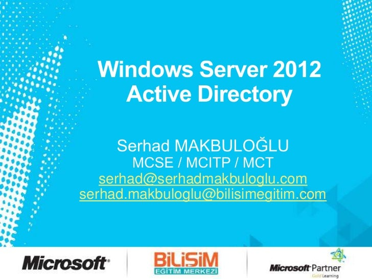 Windows Server 2012 Developer Preview Active Directory Kurulum ve Gelen Yenilikler