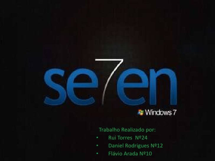 Grupo 1- Windows Seven