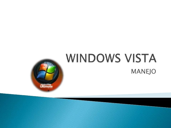 WINDOWS VISTA<br />MANEJO<br />