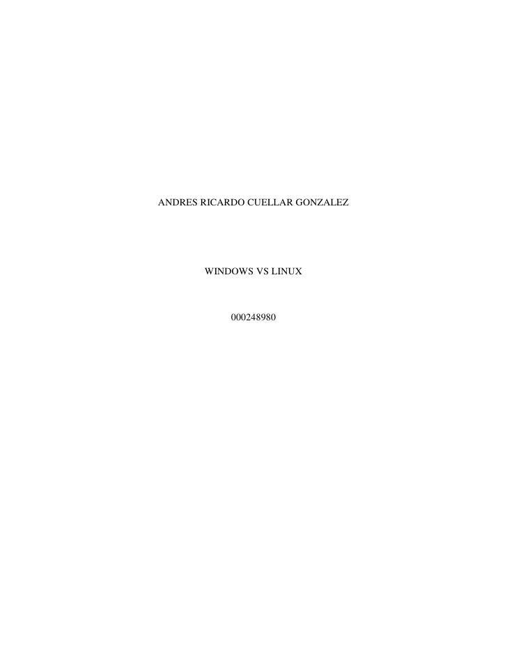 ANDRES RICARDO CUELLAR GONZALEZ       WINDOWS VS LINUX           000248980