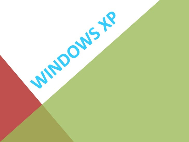 Windows xp<br />