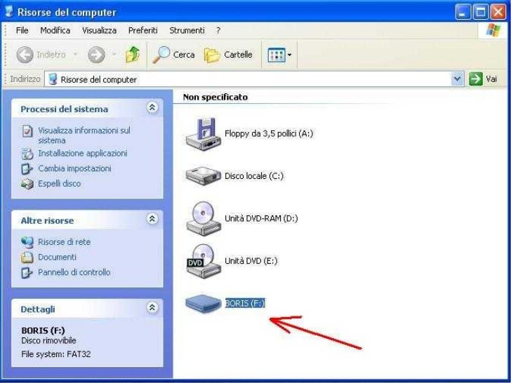 Windowsxpcondivisionediscousb
